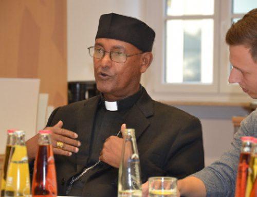 Endlich Frieden / Hintergrundgespräch mit Bischof Medhin aus Äthiopien